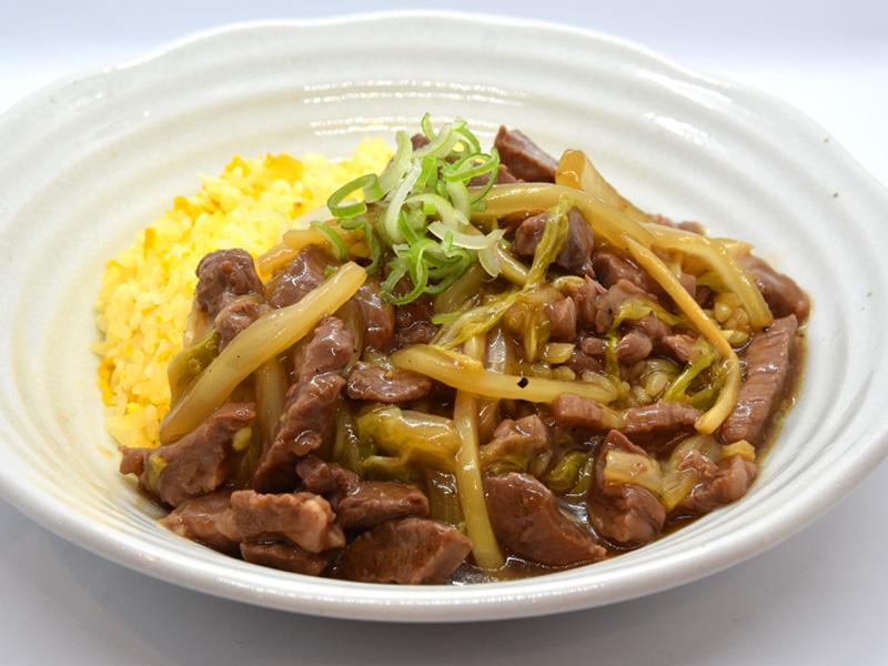 飛騨牛のあんかけ炒飯